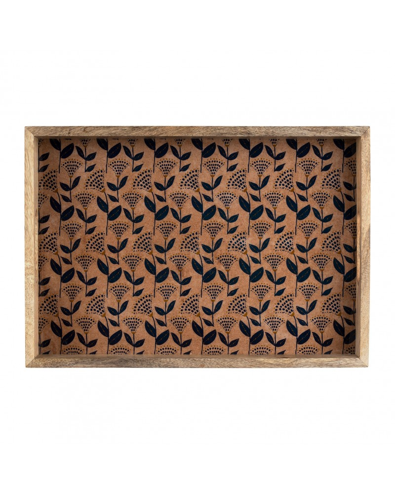 Wood Tray VEGETAL GIRLY Indigo SEMA Design