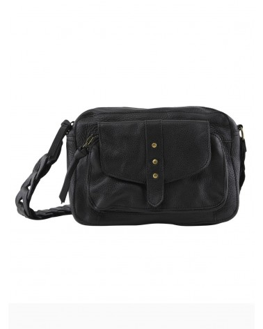 PIECES - PCTALLA Leather bag Crossbody bag for Women Black
