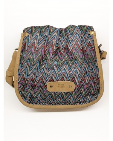 Percy PW3 Opal Canvas Messenger Bag