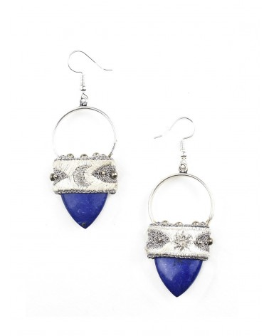 Earrings KALO Lapis NAHUA