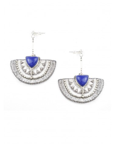 Earrings KALIE Lapis NAHUA