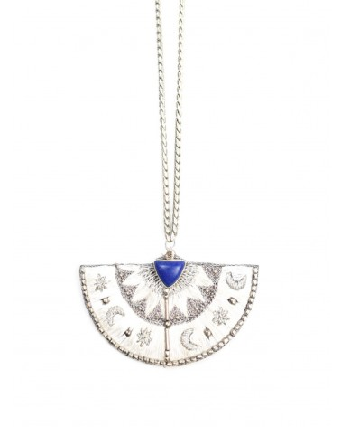 Necklace KAMELIA Lapis NAHUA