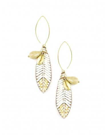 Earrings OSIRIS Cream NAHUA