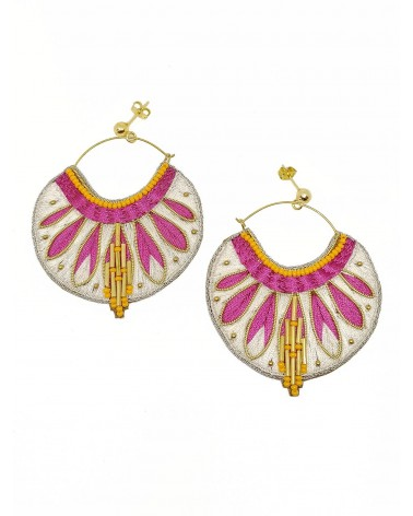 Earrings APIE Lilac NAHUA