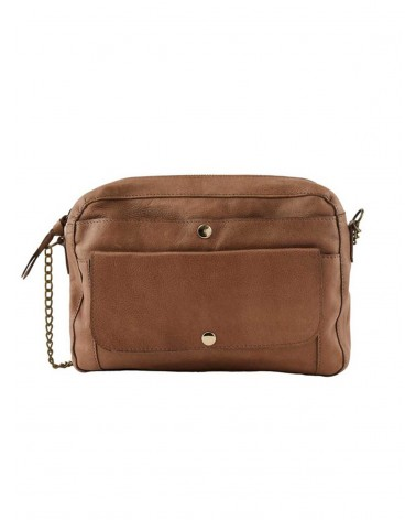 PIECES - PCGERTA Leather bag Crossbody bag for Women Toasted Coconut
