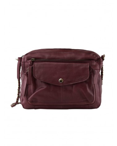 PCLIV Winetasting Leather Crossbody bag PIECES