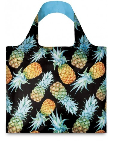 Sac de courses pliable JUICY Pineapples Ananas LOQI