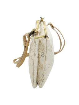 Bracelet brodé WINONA Doré NAHUA