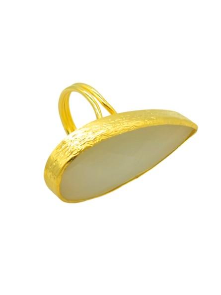 EAU DOUCE bracelet mix de chaînes Nature bijoux