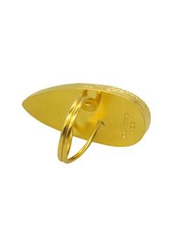 GRANADA Boucle d'oreilles pompon Nature bijoux
