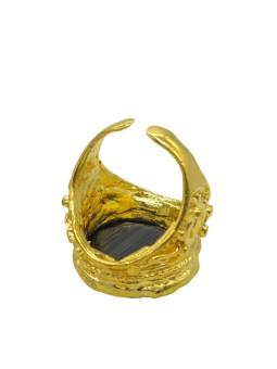 GYPSY Boucle d'oreilles bois de fer Nature bijoux