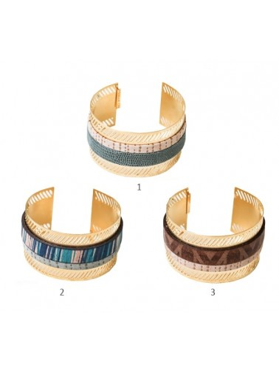 Bracelet TRAZAN Doré Shlomit Ofir