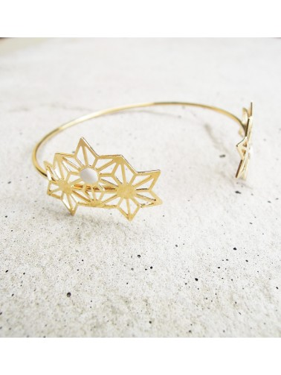 Bracelet jonc Snoflinga Marie Duvert
