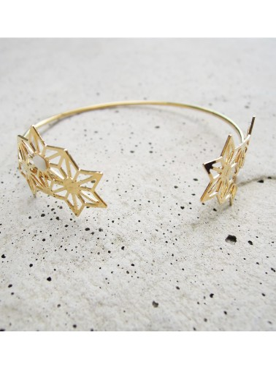 Bracelet souple doré réglable Marie Duvert