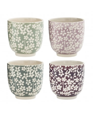 Tasse porcelaine Seeke lots de 4 pcs Bloomingville