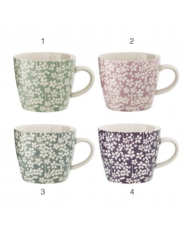 Mug céramique Seeke lots de 4 pcs Bloomingville