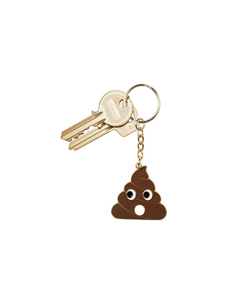 Porte-clés Emokey rings Poo Doiy