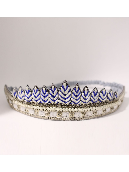 Bracelet brodé ANOGY Vert NAHUA