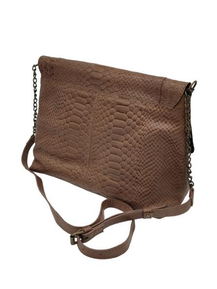 Boucles d'oreille brodées DAMILA Argenté Noir Nahua