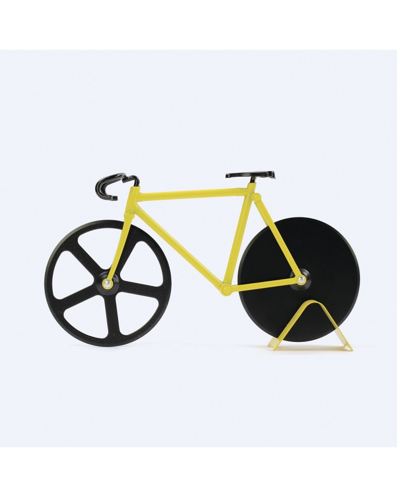 Coupe-pizza Fixie Bumblebee - Roulette à pizza Doiy