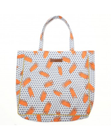 SAC CABAS SUPERNOVA ORANGE MAPOESIE