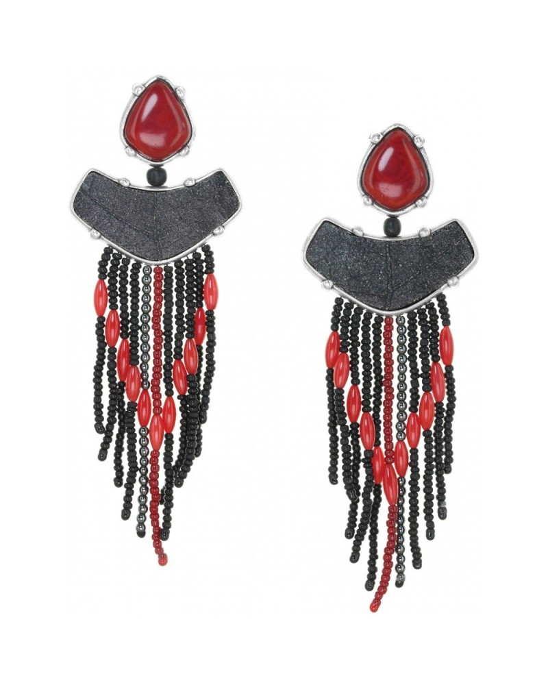 BLACK FOREST boucles d'oreilles grappe crochet Nature bijoux