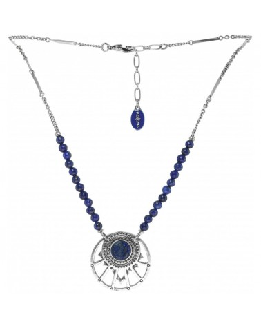 COBALT collier 3 rangs Nature bijoux
