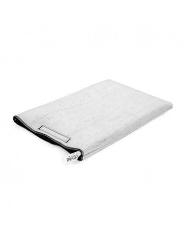 "Macbook velcro case 13"" silver by Pijama"