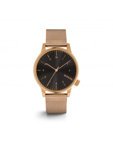 Watch Winston Royale Rose Gold Black by KOMONO