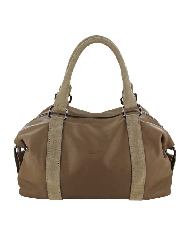 Leather bowling bag Jess by Lea Toni