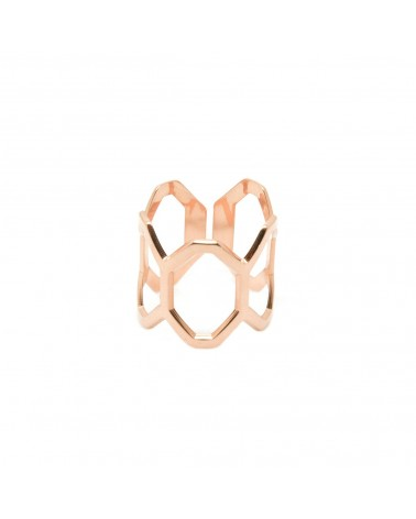 Honeycomb ring by Mya Bay