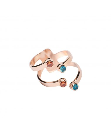 Double claw ring by Mya Bay