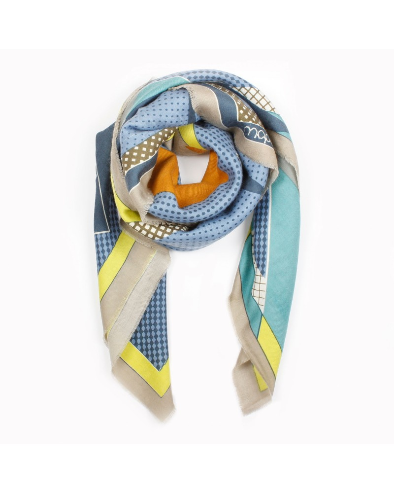 Scarf Theorie Grege by MaPoesie