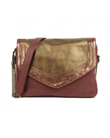 Bag Gizeh Bordeaux by Antoinette Ameska