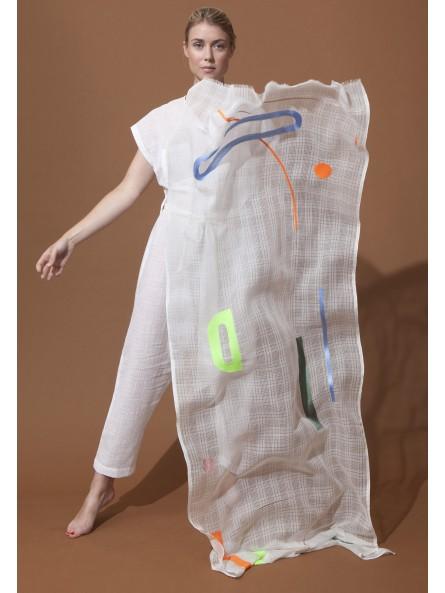Lampe Suspension Verre et Bois Madam Stoltz
