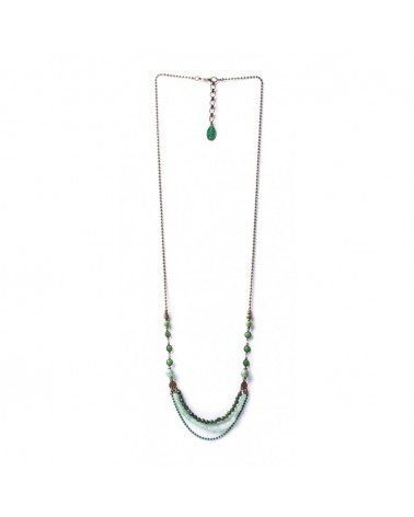 EMERALD Collier Long Nature bijoux