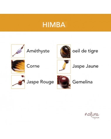 HIMBA Collier long Nature bijoux