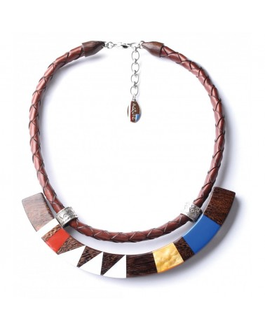 INLAY collier en U Nature bijoux