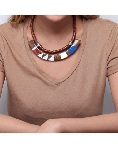 Nature Bijoux - INLAY U Necklace