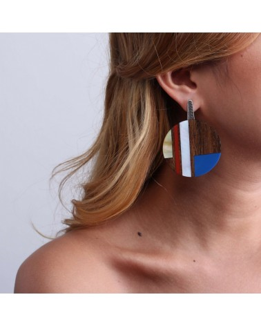 Nature Bijoux - INLAY Gypsy Earrings