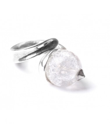 SAINT PETERSBOURG Bague Perle Ronde Nature bijoux