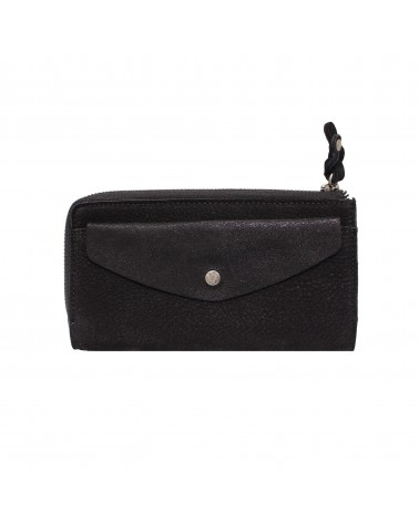 Mila Louise - OLA Black Leather Wallet