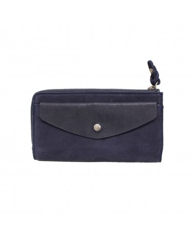 Mila Louise - OUSSY Black Leather Wallet