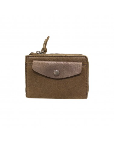 Portefeuille OURY Cuir Kiwi Mila Louise