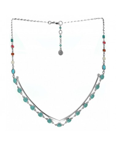 Franck Herval - SHAGGI V Shape Necklace