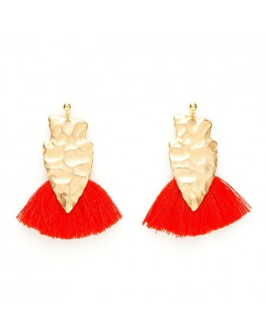 Boucles d'oreilles Alice Rouge - Charly James