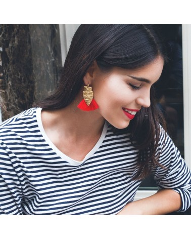 Charly James - Earrings Alice Blue