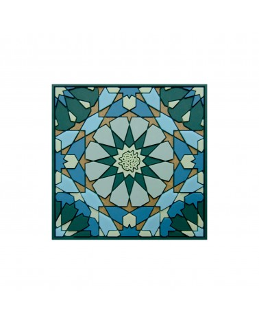 Images d'orient - Coaster Sursock Vitrail Set of 2