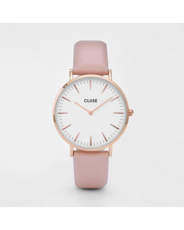 CLUSE - Ladies Watch La Bohème Rose Gold Black/Black