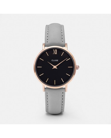 CLUSE - Montre Femme Minuit Rose Gold Black/Grey